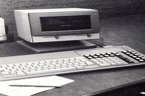 The building society's first computer installed into the Head Office.