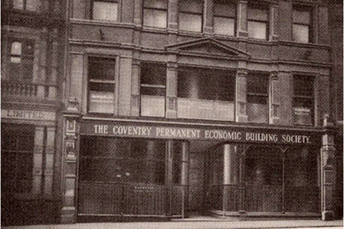 The building society's High Street Office in 1934.