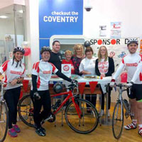 Staff ran, swam, cycled, rowed, walked and baked for Sport Relief.