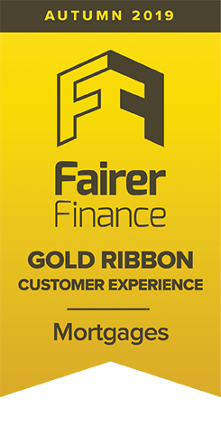 Fairer Finance Gold Ribbon for mortgages