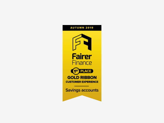 Fairer Finance No.1 for savings