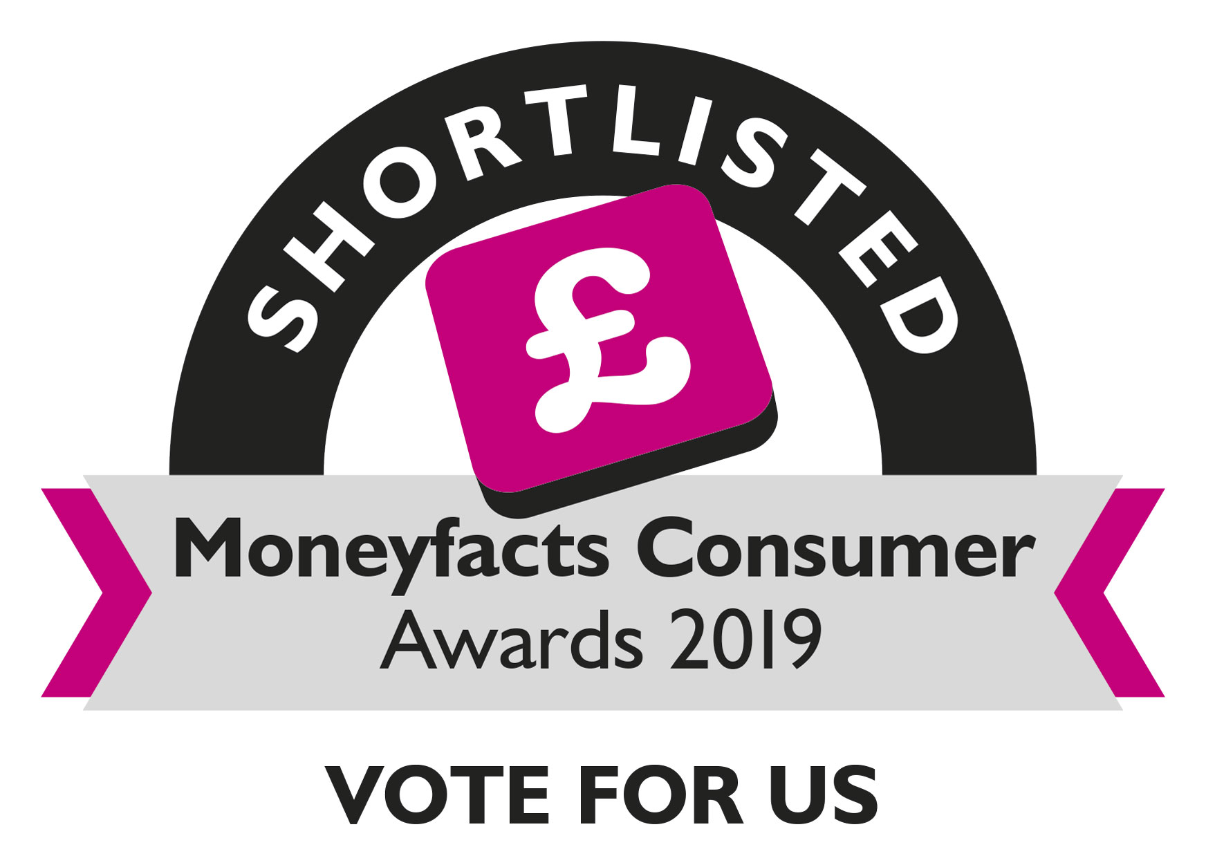 Moneyfacts Consumer Awards 2019 image